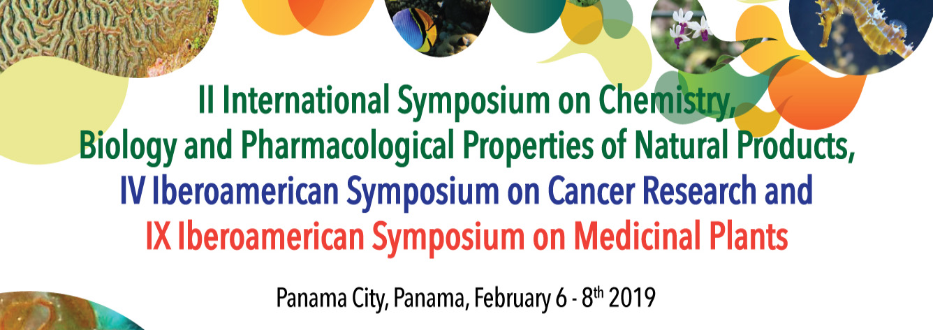II Symposium on Chemistry Biology and Pharmacological Properties of Natural Prosucts - PANAMÁ